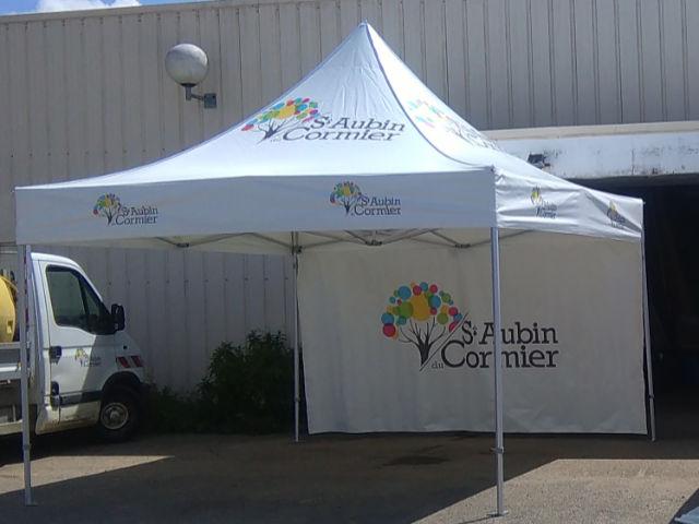 Stand à Saint Aubin du Cormier