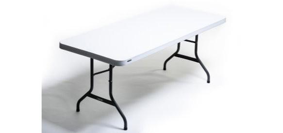 Table Lifetime pieds pliants