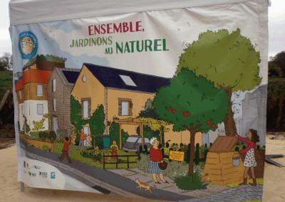 Syndicat des Eaux - Rennes -  Stand Impression Numérique