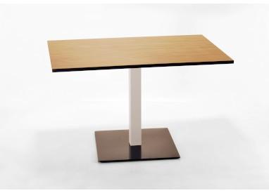 Table restauration rectangulaire - 1 colonne KOR