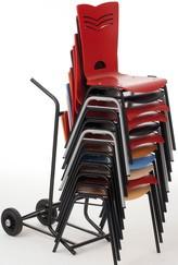 chaise alix teintée